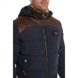 Manteau Redskins Silver Mitchell Homme - Blue/Brown