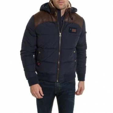 Manteau Redskins Silver Mitchell Hommes - Blue/Brown