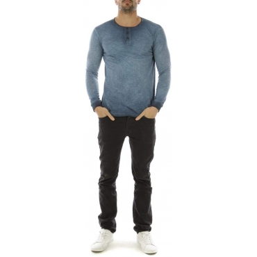 Tee Shirt Manches Longues Hopenlife Homme - Navy