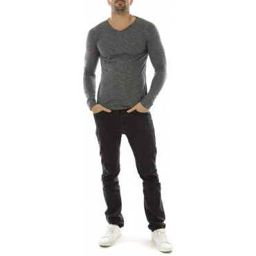 Tee Shirt Manches Longues Hopenlife Homme - Black