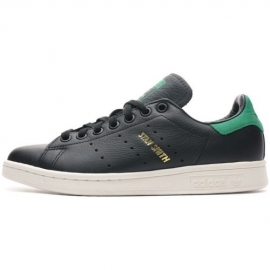 Baskets Stan Smith Homme - Noir/Vert title=
