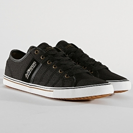 Baskets Kappa Calexi Homme - Black Grey Silver