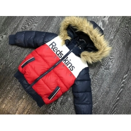Manteau Redskins Enfant - Tricolore