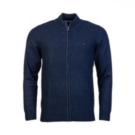 Gilet Zippé Teddy Smith Erico navy chiné title=