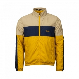 Veste coupe vent Teddy Smith beige bleu marine jaune title=