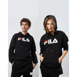 Sweat Capuche Fila - Noir