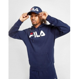 Sweat Capuche Fila - Bleu