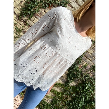 Blouse Emmy broderie anglaise