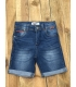 Short jean Redskins enfant Stone