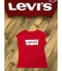 Levis fille tee shirt - rouge