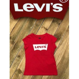 Levi's fille tee shirt - rouge title=
