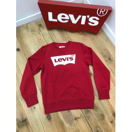 Levis sweat enfant - rouge title=