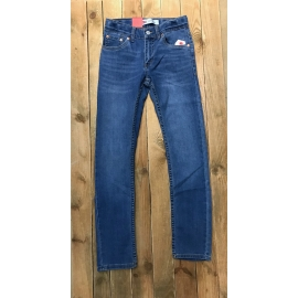 Jean Levis bleu enfant Low Down 510 title=