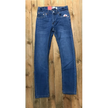 Jean Levis enfant Low Down 510 bleu
