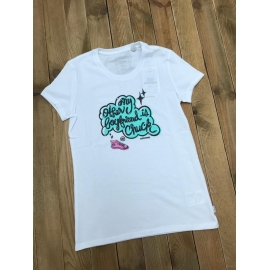 Converse tee shirt femme My Other BF