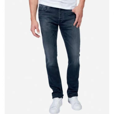 Teddy Smith Jeans reg worn - blue black