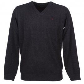 Teddy Smith pull piko dark navy chine title=