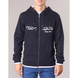 Teddy Smith sweat giclass hoody dark navy