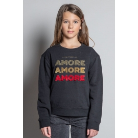 Deeluxe sweat Amore fille title=