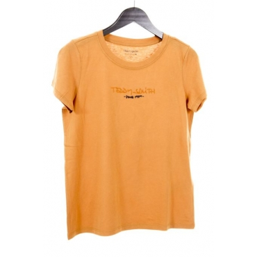 Teddy Smith tee shirt femme Ticia orange
