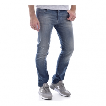 Teddy Smith Jean rope reg gris bleu