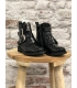 Boots fille vernis