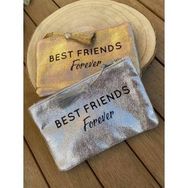 "Pochette Brillante ""Best Friends Forever"""