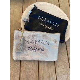 """Pochette Brillante """"maman parfaite"""" title="""
