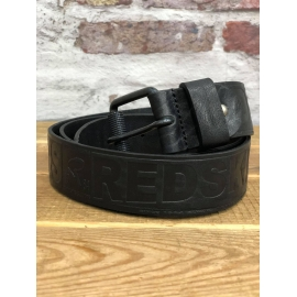 Ceinture en cuir Redskins Rederty title=