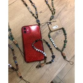 """Bracelet pour téléphone - message """"chance"""""""