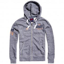 Sweat à capuche zippée Premium Goods Superdry