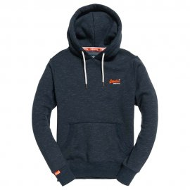 Sweat Superdry Orange Label Classic Navy Feeder