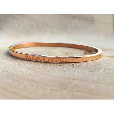 "Bracelet à message (BAM) ""ma sœur adorée"""