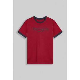 T-shirt TICLASS 3 JR MC rouge