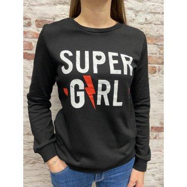 Sweat Super Girl noir