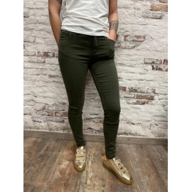 Pantalon coupe slim kaki Dany
