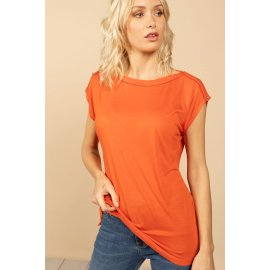 T-shirt Lyse orange Deeluxe