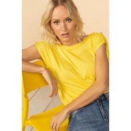 T-shirt Lyse jaune Deeluxe