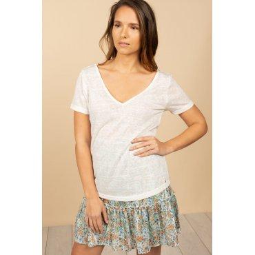 T-shirt Deeluxe Hazel blanc