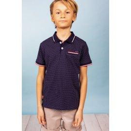 Polo Slice Deeluxe bleu pour enfant