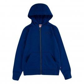 Sweat à capuche Levi's Logo Full zip hoodie bleu