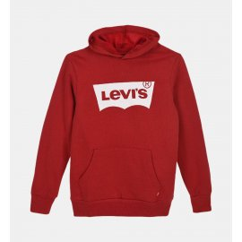 Sweat capuche Levi's kids Lvb Batwing Hoodie rouge