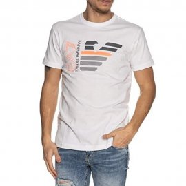 T-shirt Emporio Armani EA7 blanc homme