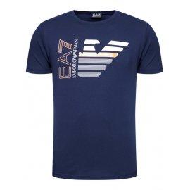 T-shirt Emporio Armani EA7 bleu marine homme