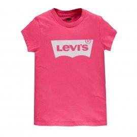 T-shirt Levi's rose fille